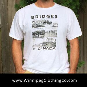 Canada Themed t-Shirts | Bridges of Canada | Lion's Gate Bridge