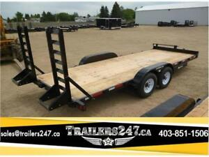 -*-*New 20ft Equipment Trailer w/14,000# GVWR - Tax In $*-*-