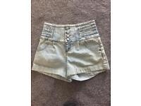 Miss selfridge Jean shorts