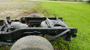 1996 Ram 2wd rolling chassis