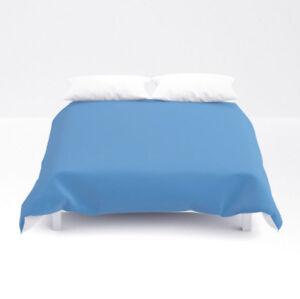 Solid Blue King Size Duvet Cover