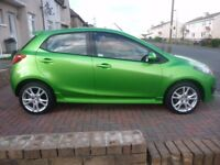 2010 Mazda 2 Sport 1.5l manual 5 door hatchback, low mileage, great condition, cheap insurance