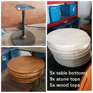 Table bases & Table Tops