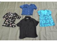 Bundle of Four Womans Summer Blouses