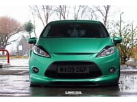 Ford Fiesta mk7 zetec s show car with air ride