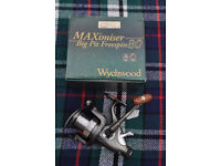 wychwood maximiser big pit freespin 80 fishing reel