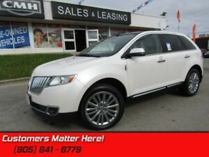 2013 Lincoln MKX Base  AWD, NAVI, REAR CAM, SUNROOF, HEATED LEAT