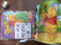 Winnie the Pooh Table & Ceiling Lamp Shade