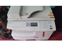 Samsung mono photocopier and printer for sale
