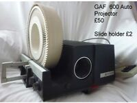 GAF 600 auto projector and accessories (offers considered)