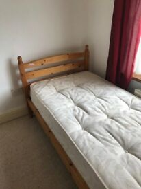FREE SINGLE BED WITH MATTRESS COLLECTION ONLY