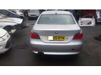 BMW 520 BOOT LID SILVER 2005, 5 SERIES