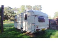 Classic Castleton 2 berth caravan 1985