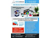 Web Design & Development | Logo/Brochure Designing | Mobile website | E Commerce | Wordpress