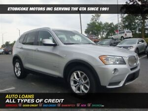 2011 BMW X3 PANORAMIC ROOF / BAC-UP CAM