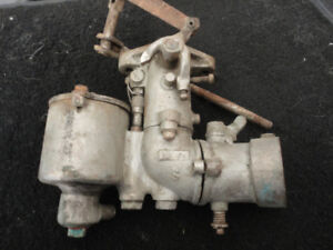 antique motorcyle carb