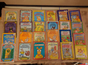 24 Arthur Paperback Picture Books by Marc Brown