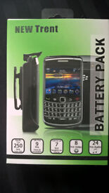 Blackberry Curve 8300 clip on New Trent battery pack