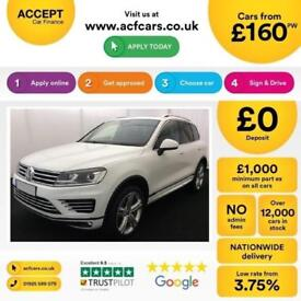 Volkswagen Touareg R-Line FROM £160 PER WEEK!