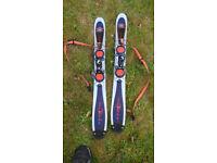 Snowblade skis, 90cm. Fun skis for anyone.