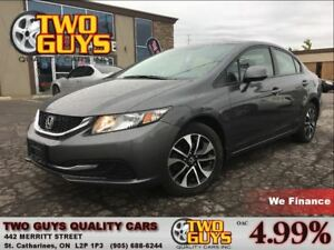 2013 Honda Civic EX SUNROOF ALLOYS AUTO