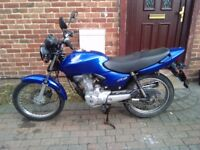 2006 Honda CG 125 motorcycle, new MOT, excellent runner, very good condition, bargain, not cbf ybr ,