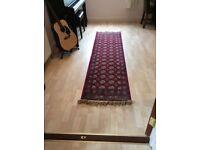 2 identical Beautiful runner rugs