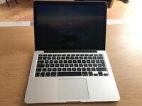"Apple MacBook Pro 13"" Retina VGC 8gb RAM 256gb SSD 2.4ghz i5"