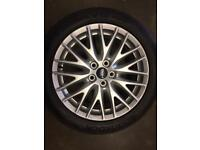 "Ford Focus 17"" alloy wheel for sale only got one not bad condition £105 call 07860431401"