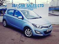 HYUNDAI I20 1.2 ACTIVE 5d 84 BHP A LOW PRICE 5DR HATCHBACK (blue) 2013