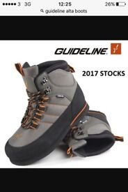 Guideline laxa wading boots size 7