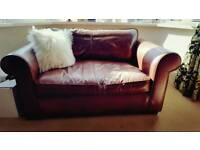 LAURA ASHLEY Burgess leather sofas for sale