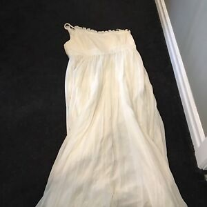 Plus sized wedding dress-1shoulder
