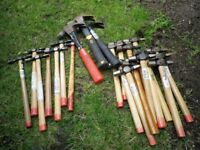 Selection of Hammers