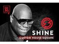 2 Carl Cox Tickets For Sale