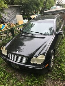 2002  Mercedes Benz C320 Wagon FOR PARTS
