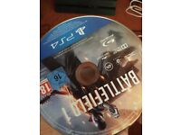 Battlefield one Ps4 no case