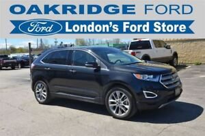 2015 Ford Edge Titanium 302A LOADED, 3.5L V6 ENGINE, ALL WHEEL D