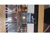 7 Bon Jovi CD'S and 4 Bon Jovi Music DVD'S