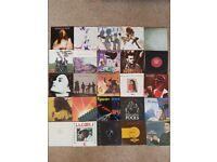 "7"" singles. 7"" singles. - Various 80's & 90's vinyl"