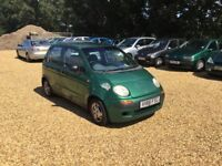 1999 Daewoo Matiz 0.8 8 Months MOT Low Milage Cheap Car