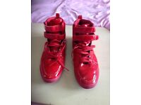 Shiney red size 9 shoes