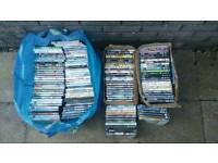 Huge joblot car boot lot of dvds ebay or resale