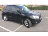 TOYOTA RAV 4 XTR DIESEL FOR SALE GOOD MPG,LOW MILEAGE LONG MOT GOOD CONDITION