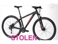 Stolen trek bike