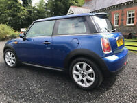 Mini Cooper D, Full Years MOT, Pano Sunroof, Sat Nav, Cruise Control, Half Leather Interior, Diesel