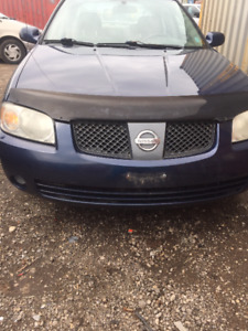 2006 Nissan Sentra Blue Other