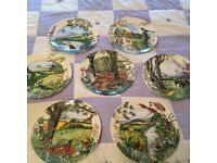 8 Colin Newman Country Panorama Plates Decoration