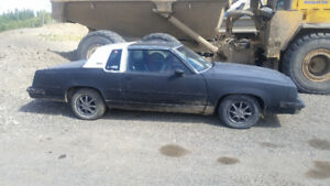 1984 Oldsmobile Cutlass Coupe (2 door)