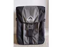 Altura grey/black bike pannier for laptop